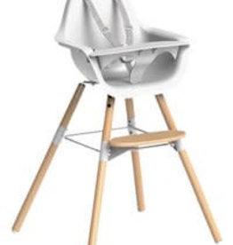 Childhome Evolu 2 stoel naturel/wit