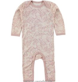 Small rags Fly playsuit small rags pale mauve