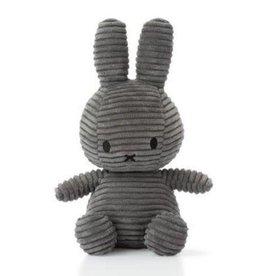 Bon Ton Toys Nijntje Corduroy Large Grey 50 cm