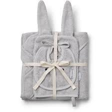 Liewood Adele terry baby package dumbo grey