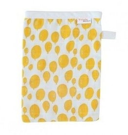 trixie baby Tetra washandjes Balloon yellow