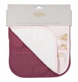 Filibabba 2 pack slabber air balloon rose