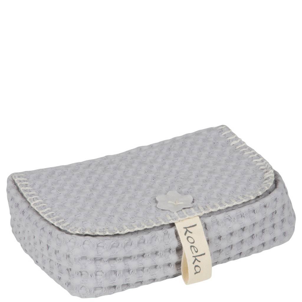koeka Vochtige doekjeshouder Antwerp Silver grey