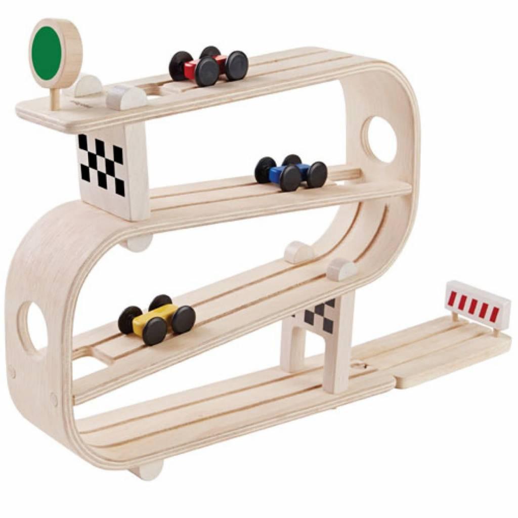 plantoys Autobaan Ramp Racer Plan Toys