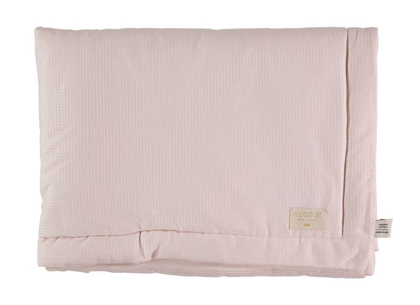 Nobodinoz Deken Nobodinoz Honeycomb dream pink 70 x 70 mini