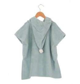 Nobodinoz So cute poncho 3 - 5 jaar green