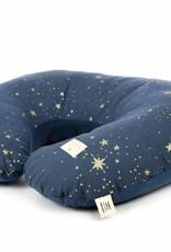 Nobodinoz Borstvoedingskussen gold stella/night blue