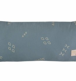 Nobodinoz Hardy cushion 22 x 52 gold secrets/magic green