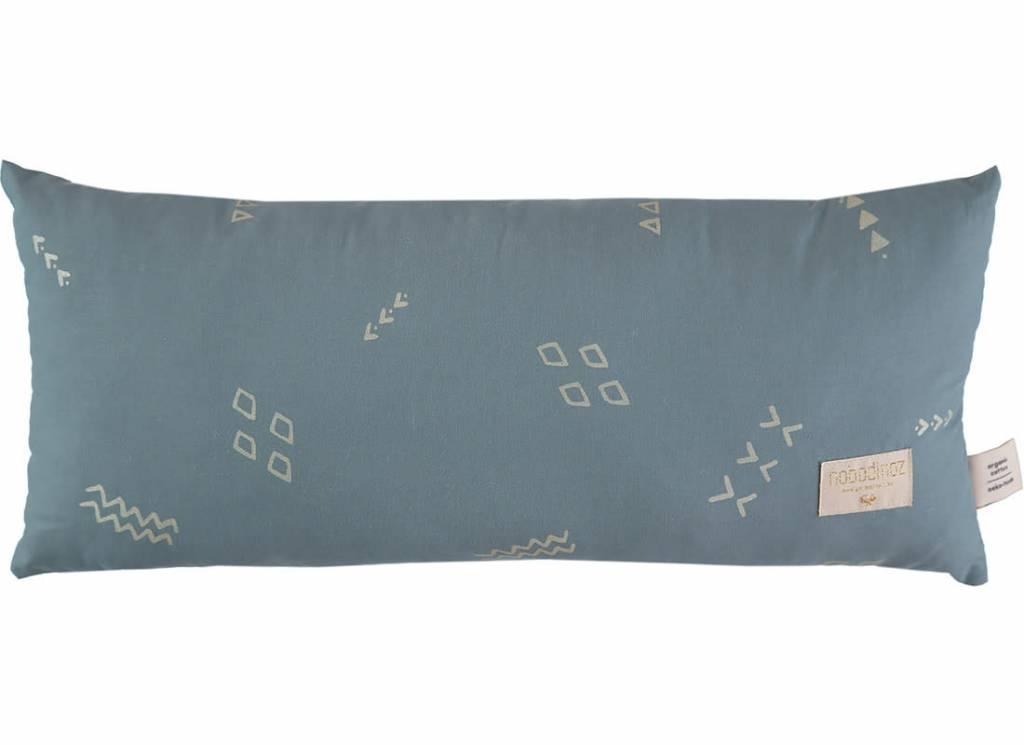 Nobodinoz Hardy cushion 22 x 52 gold secrets/magic green