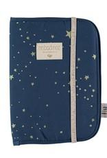 Nobodinoz Poema gezondheidsboekje gold stella/night blue