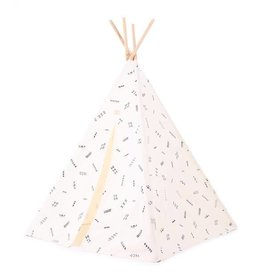 Nobodinoz Tipi Phoenix 149x100 black secrets/ natural