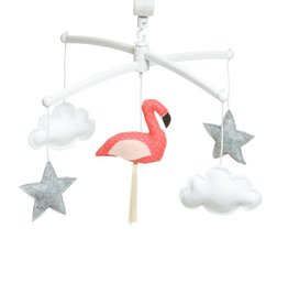 Pouce et Lina Mobiel flamingo oranje