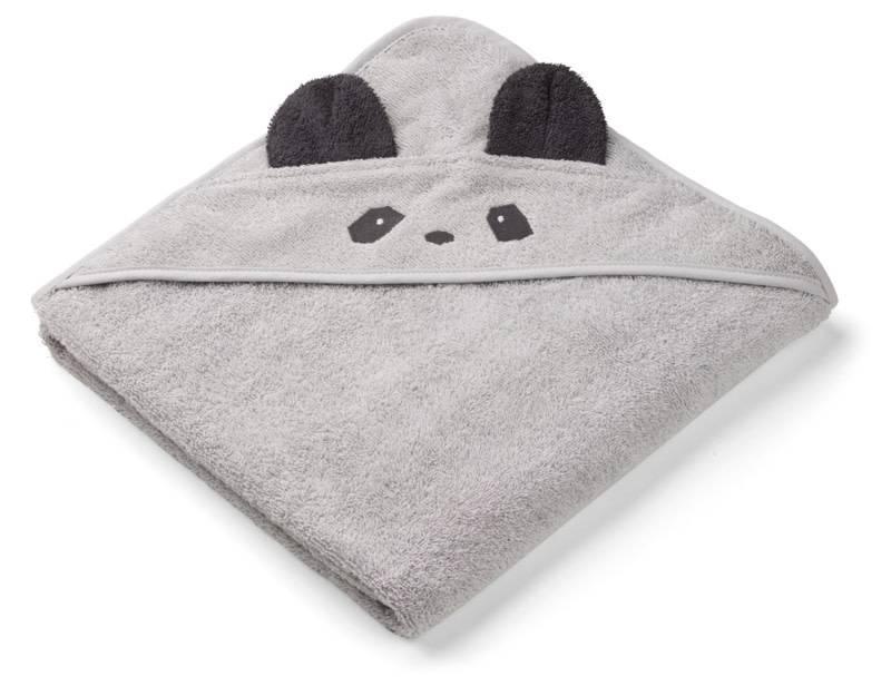 Liewood Badcape Augusta panda dumbo grey
