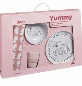 Done by Deer Dots Yummy Dinner Set, powder