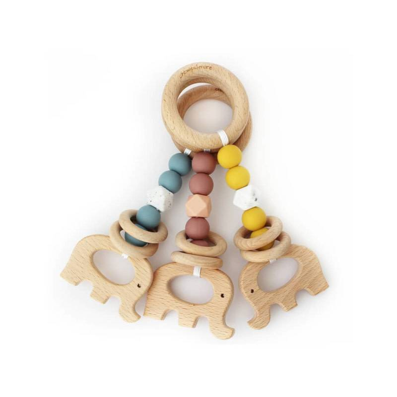 Chewies & more Rattle me Stroller Marble/oker