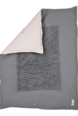 koeka Boxkleed Stockholm Silver grey/steel grey