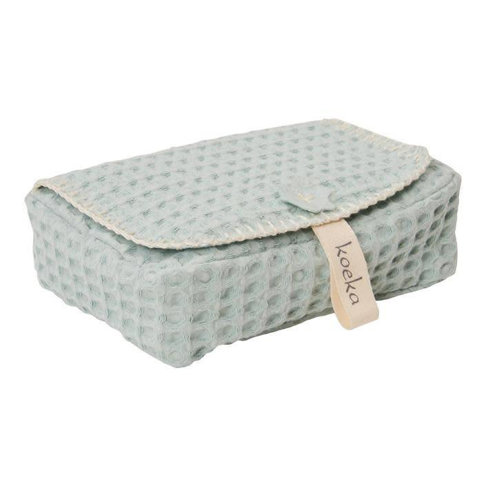 koeka Baby wipes cover Misty mint