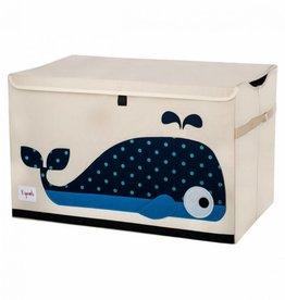 3 sprouts Speelgoedkoffer walvis