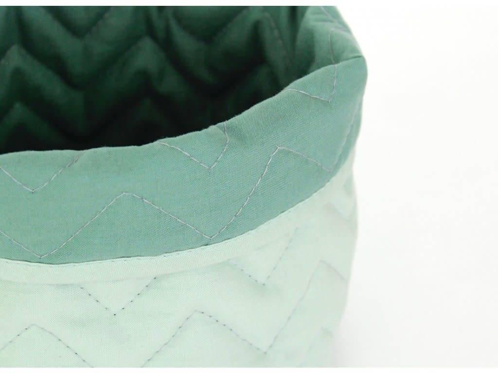 Nobodinoz small basket green Nobodinoz