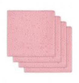 Jollein Set van 4 tetradoeken Mini dots blush pink