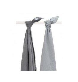 Jollein Set van 2 swaddles Duo grey Jollein