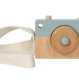 Little Dutch Houten Camera Pastel blauw