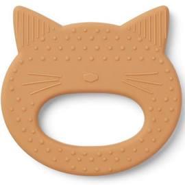 Liewood Liewood Bijtring Gemma Cat Mustard