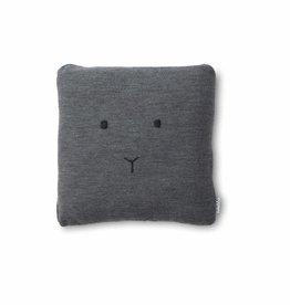 Liewood Leonora knitted cushion rabbit melange