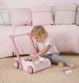 Little Dutch Blokkenkar Little dutch Adventure pink
