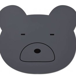 Liewood Placemat mr bear grey