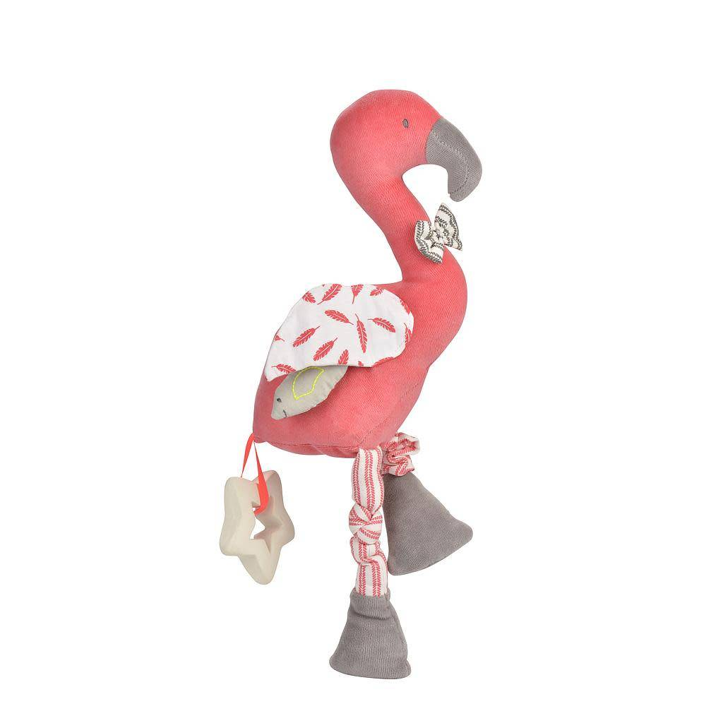 Kikadu activity toy flamingo