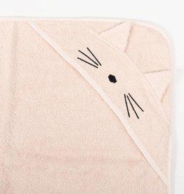 Liewood Cat sweet rose towel