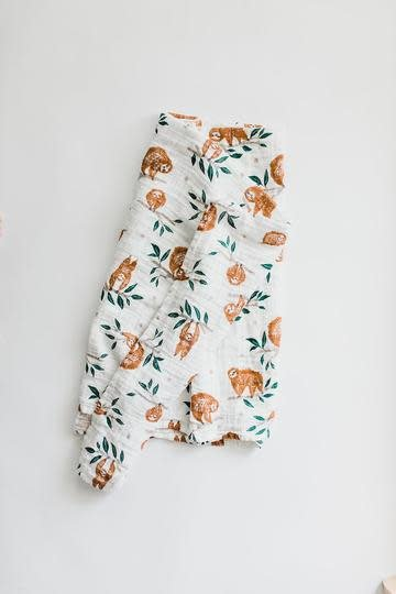 clementine SLOW LIVING SWADDLE