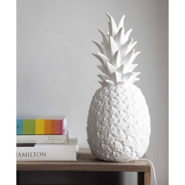 Goodnight light Ananas nachtlamp wit
