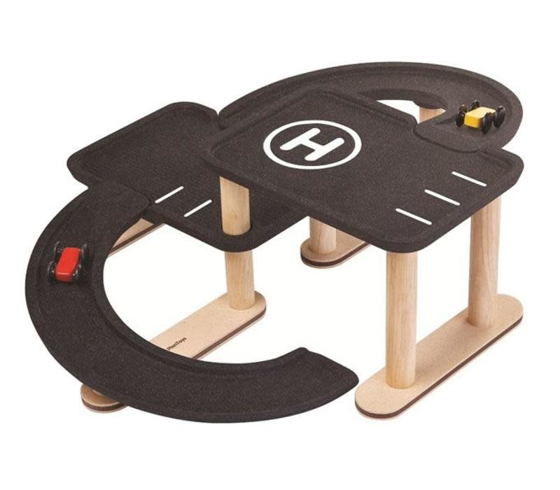 Plan toys Race 'n play parking garage