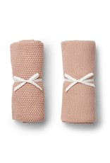 Liewood tenna knitted towel rose (2 pack)