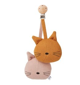 Liewood Rosa pram toy cat rose
