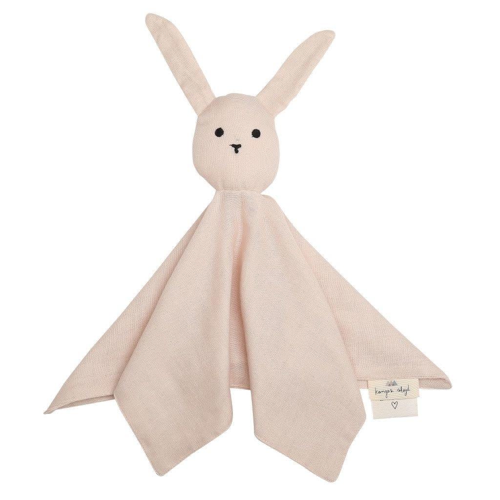 konges slojd Doudou sleepy rabbit roos