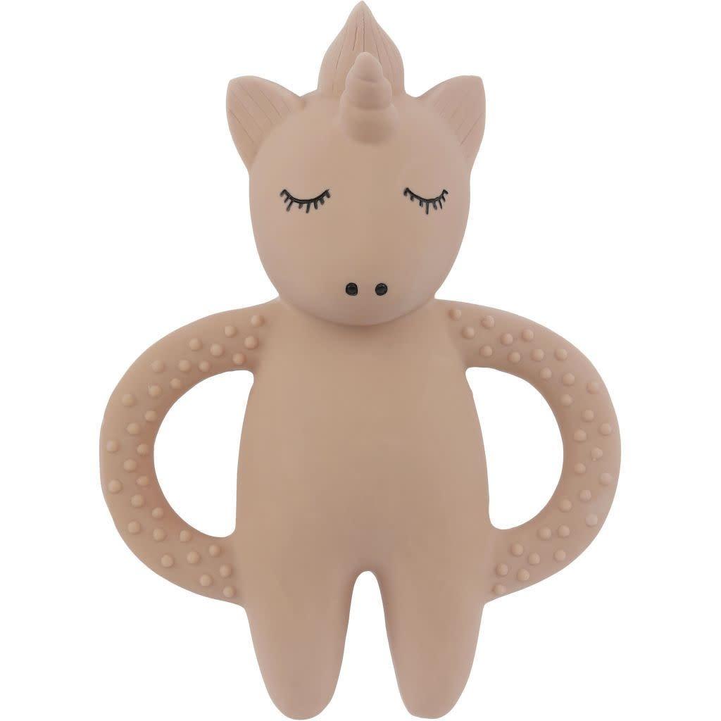 konges slojd bijtring teeth soother unicorn