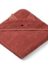 Liewood Augusta badcape cat rusty