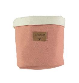 Nobodinoz Tango mandje Medium 24 x 19 Dolce vita pink