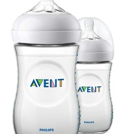 Avent Set van 2 flessen avent 260ml