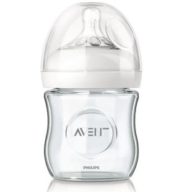 Avent Philips AVENT Glazen zuigfles Natural 2.0 transparant 125 ml