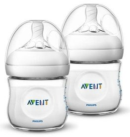 Avent AVENT NATURAL ZUIGFLES 125ML DUO