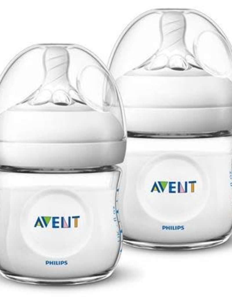 Avent Natural  zuigfles 125ml 2pack 0m+