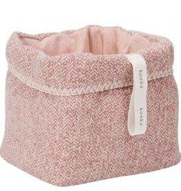 Koeka Koeka - Opbergmand Vigo - Old pink - One size