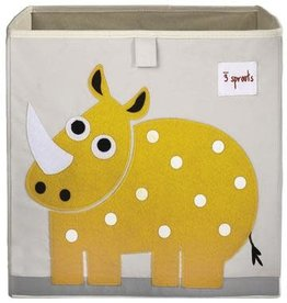 3 Sprouts Storage box Neushoorn