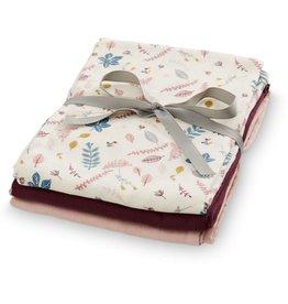 CamCam Tetra doekjes set van 3 roze