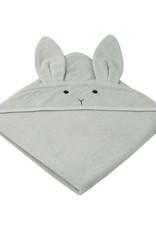 Liewood Augusta badcape Rabbit grey