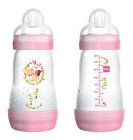 Mam Easy start fles duo 260 ml roos
